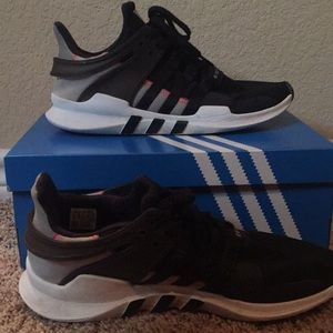 Black and White EQT Adidas